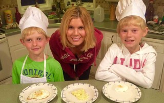 Healthy cooking lessons at home