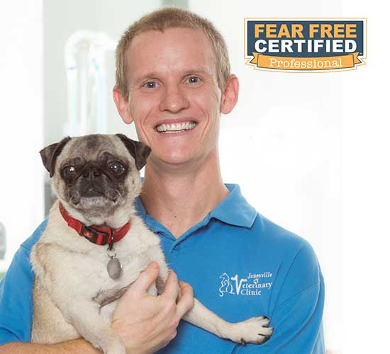 Dr. Mike is fear-free certified