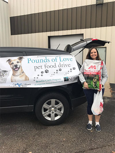 pounds of love pet food donors